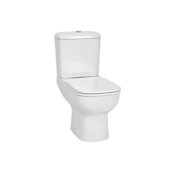 Betta Mirage White Close Couple Toilet Including Seat