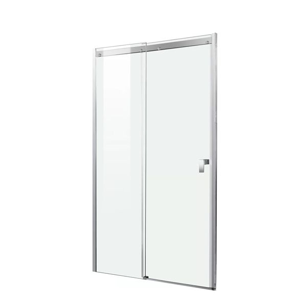 Shower Sliding Door With Chrome Frame 1210 x 2000mm