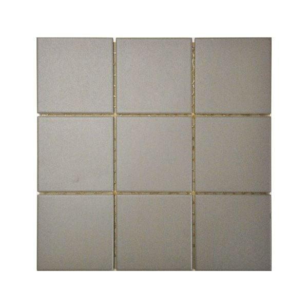 Dark Mink Arkitekt Porcelain Mosaic 300x300mm