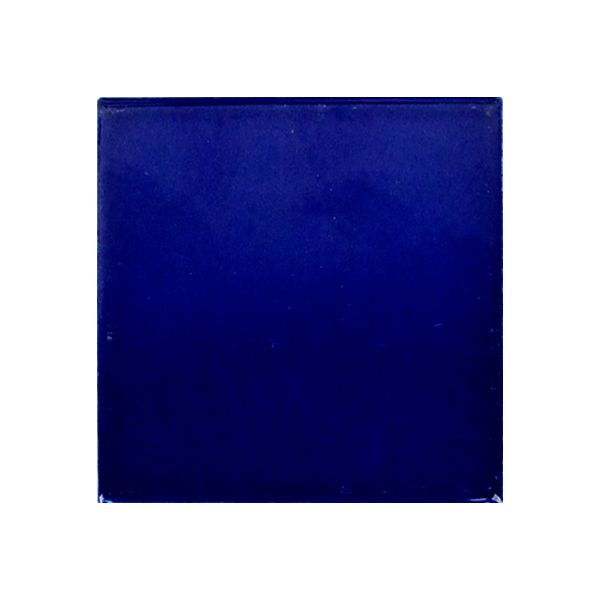 Piccolo Victorian Blue Gloss Ceramic Tile 100x100mm