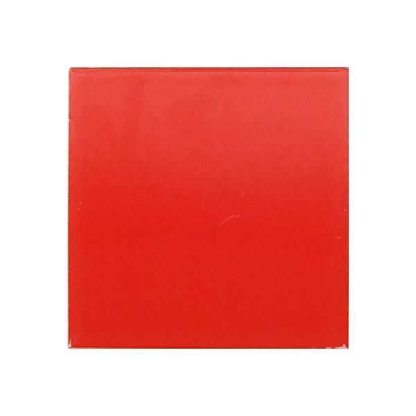 Piccolo Red Gloss Ceramic Tile 100x100mm