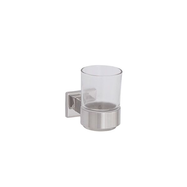 Aston Stainless Steel Toothbrush Tumbler Holder