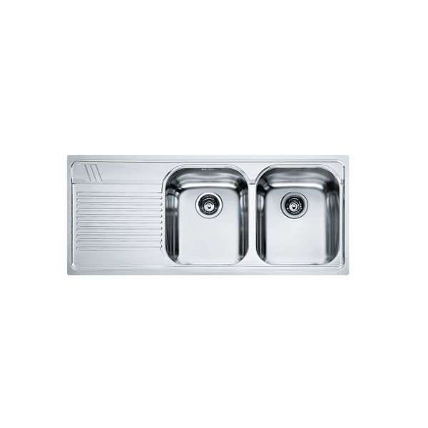 Franke Grace Left-Hand Drainer Stainless Steel Sink 1160 x 510 x 200mm