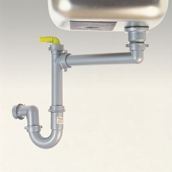 Spazi Waste Plumbing Kit For Sinks With 1 Outlet