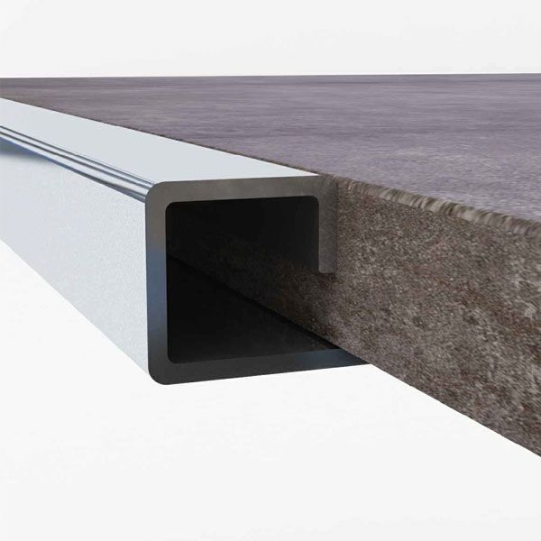 Promax 304 Stainless Steel Square Edge 12 x 2500mm