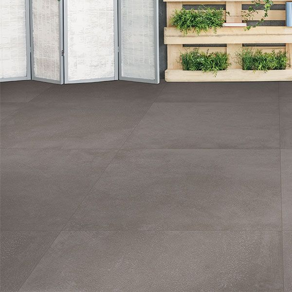 Midtown Charcoal Slip-Resistant Matt Glazed Porcelain Tile 795 x 795mm