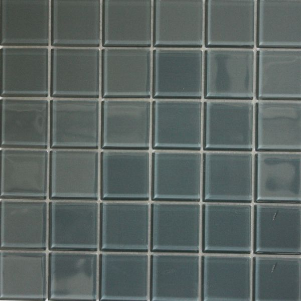 Ash Polished Glass Mosaic 300 x 300mm