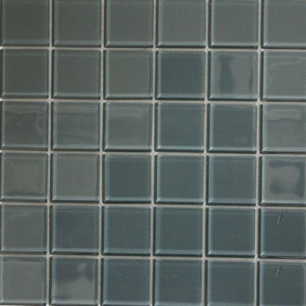 Ash Polished Glass Mosaic 300 x 300mm