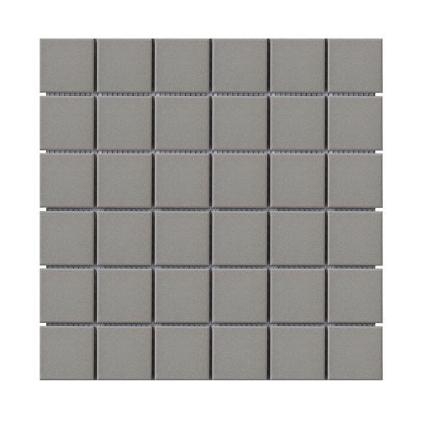 Project Light Grey Full Bodied Mosaic 306 x 306mm