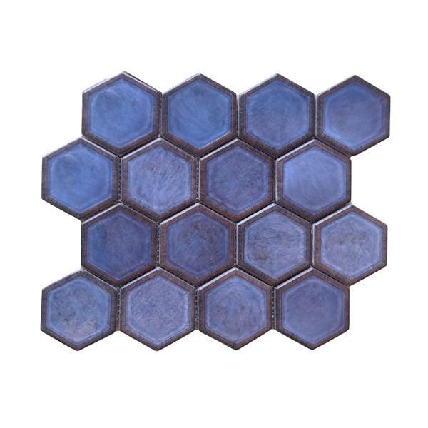 Leo Double Glazed Recycled Glass Mosaic 258 x 300mm