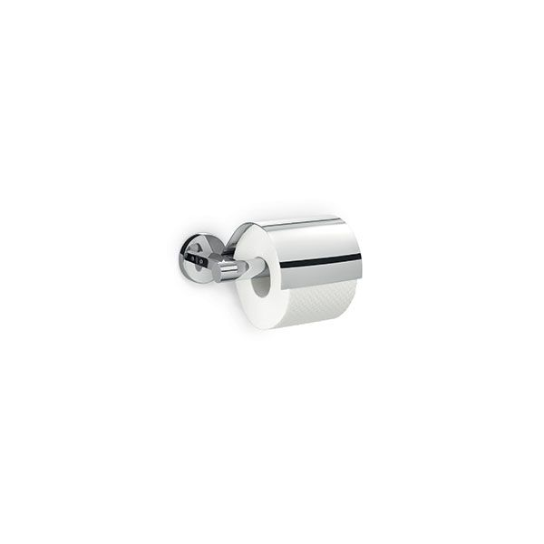 Zack Scala Polished Stainless Steel Toilet Paper Holder With Lid 175 x 60mm