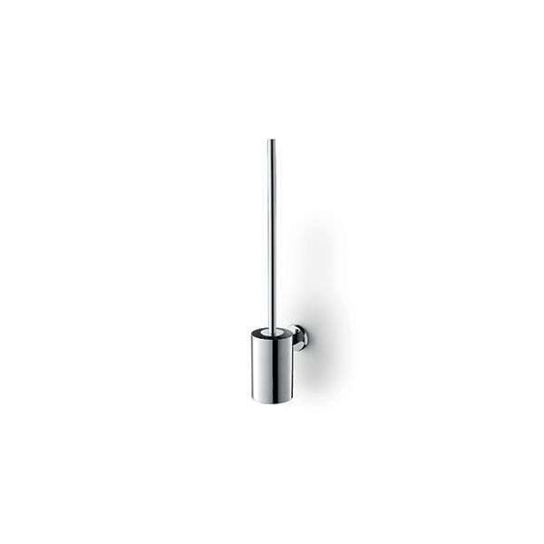 Zack Scala Polished Stainless Steel Wall Mounted Toilet Brush 89 x 130 x 540mm
