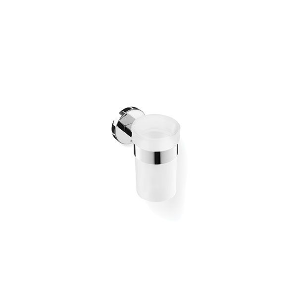 Zack Scala Polished Stainless Steel Wall Mounted Tumbler Holder ø70 x 109 x 115mm