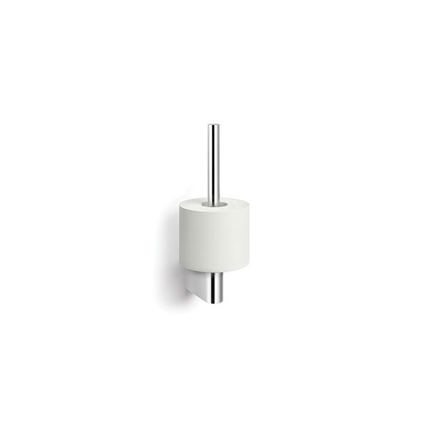 Zack Atore Polished Stainless Steel Spare Toilet Roll Holder 38 x 120 x 270mm