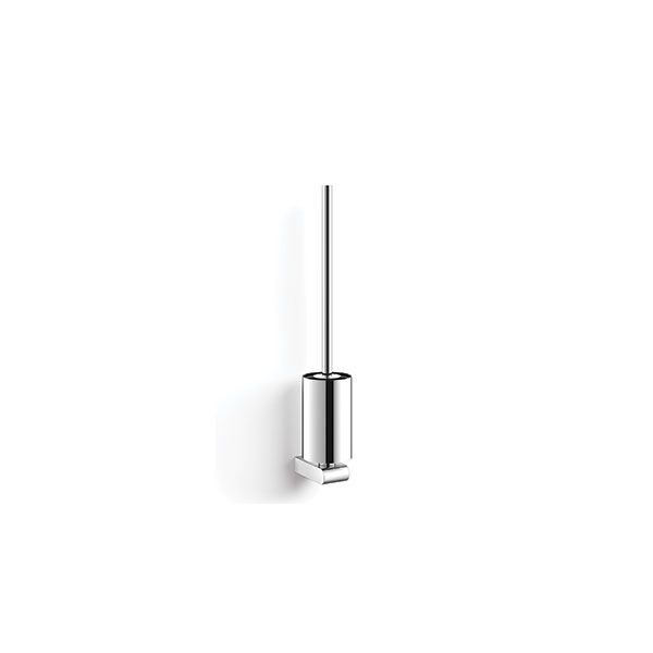 Zack Atore Polished Stainless Steel Toilet Brush 100 x 140 x 370mm