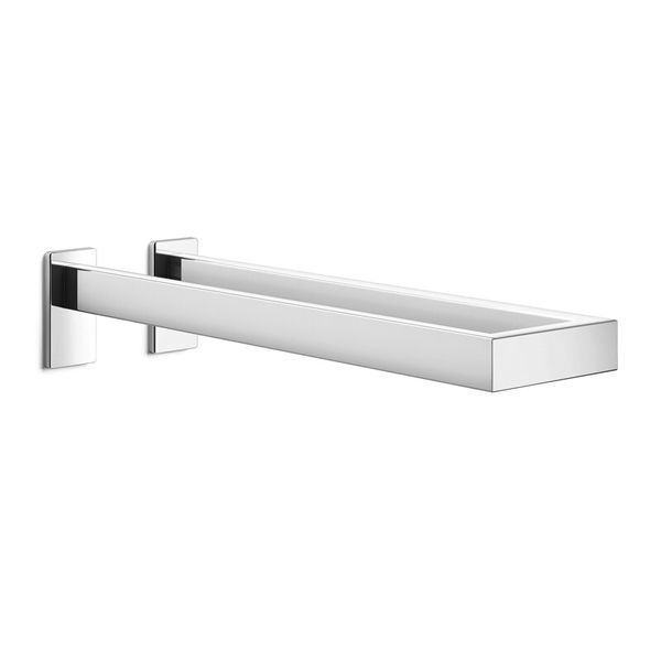 Zack Linea Polished Double Towel Holder