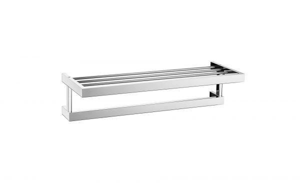 Zack Linea Polished Stainless Steel Towel Shelf 150 x 232 x 615mm