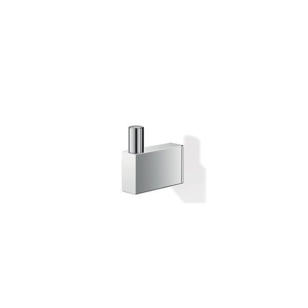 Zack Linea Polished Stainless Steel Single Robe Hook 20 x 62 x 64mm