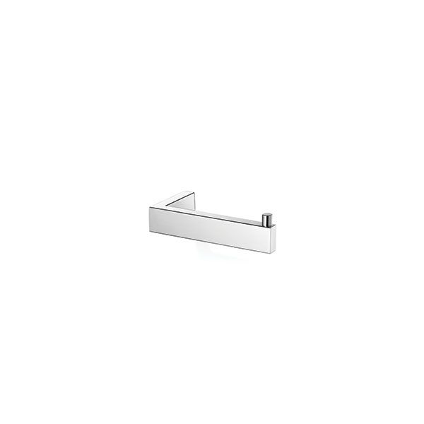 Zack Linea Polished Stainless Steel Toilet Roll Holder 42 x 80 x 145mm