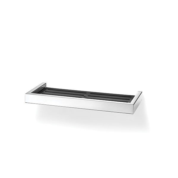 Zack Linea Polished Stainless Shower Shelf 353 x 132mm