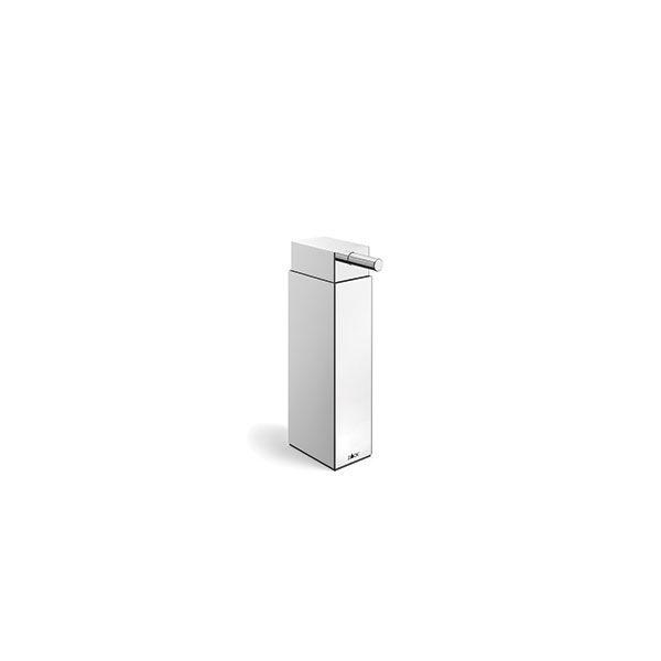 Zack Linea Polished Stainless Steel Freestanding Soap Dispenser 130 x 450mm