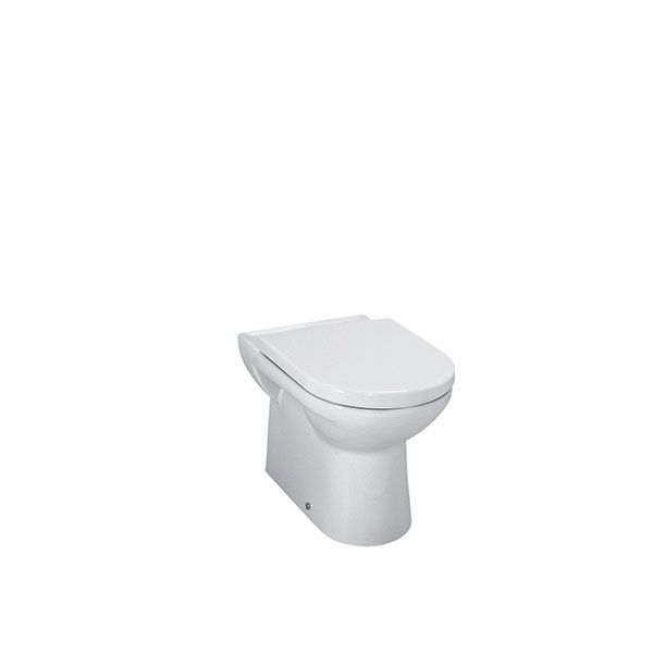 Laufen Pro White Floor Standing Toilet Excluding Seat and Cistern