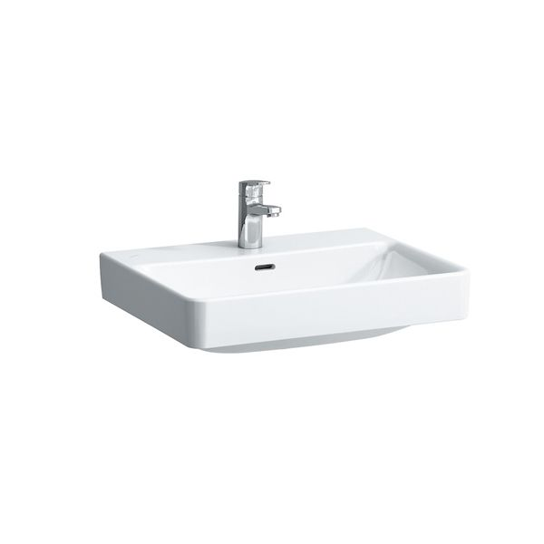 Laufen Pro S White Undersurface Ground Basin With A Tap Hole 600 x 465 x 95mm