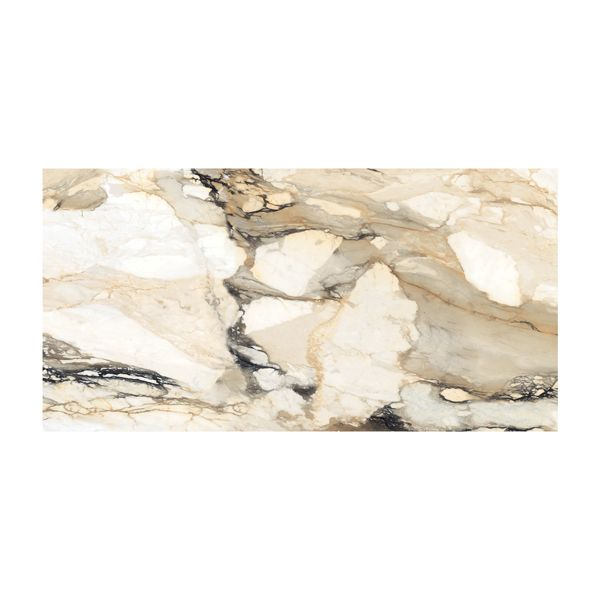 Statuario Calcutta Glazed Polished Porcelain Tile 800 x 1600mm