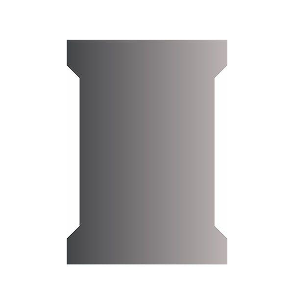 Affirmations Edge Light LED Slim Mirror 700 x 500 x 30mm