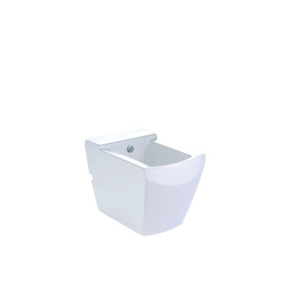 Cotto Tetragon White Floor Standing Bidet