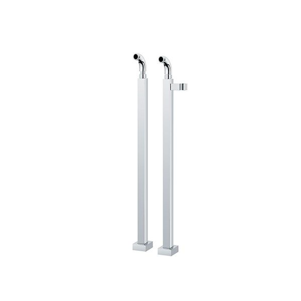 Milana Square Freestanding Extendable Pipes