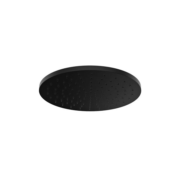 Almar EcoAir Emotion Round ABS Black Shower Head 300mm