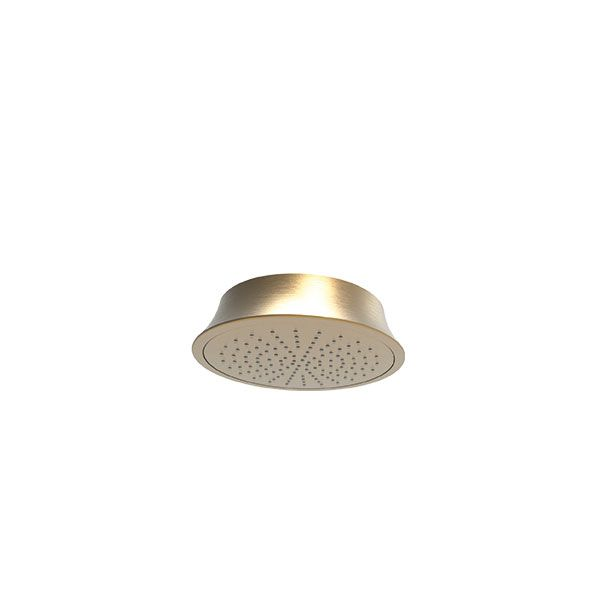 Almar Klessidra Round Brushed Bronze Shower Head 216mm Diameter
