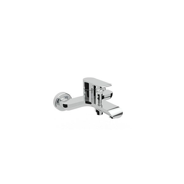 Tivoli Gadoni Wall Mounted Bath Mixer Including Hand Shower