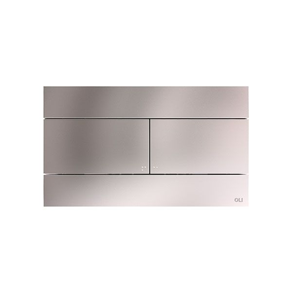Slim 2 Inox Stainless Steel Dual Flush Plate