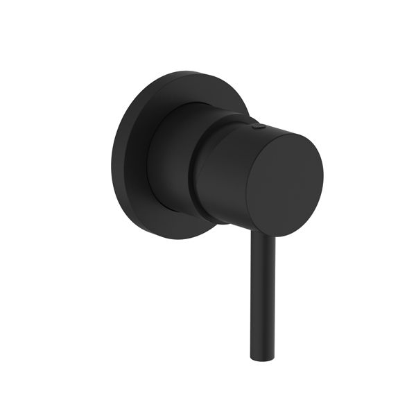 Tivoli Prato Matt Black Bath Or Shower Mixer Including Concealed Part