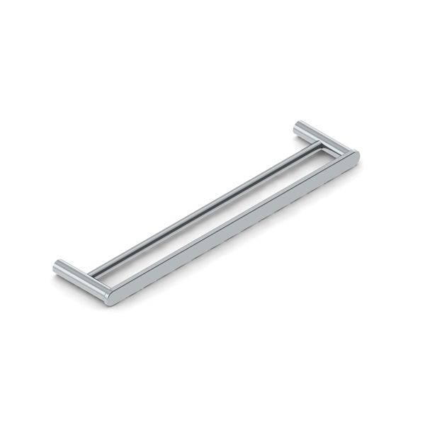 Semplice Chiara Stainless Steel Double Towel Rail 600mm