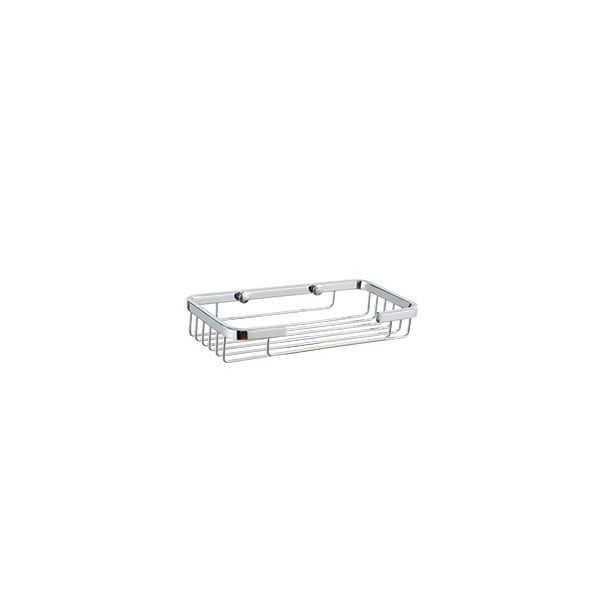 Wireline Medium Rectangle Soap Basket Stainless Steel