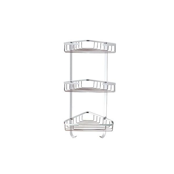 Wireline 3 Level Shower Caddy Stainless Steel
