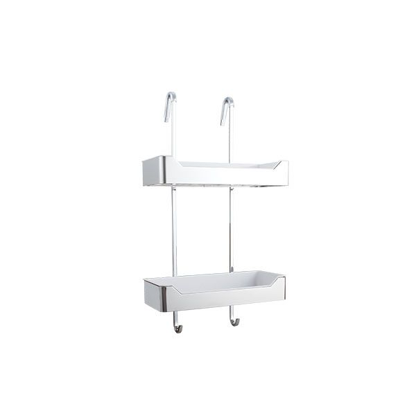 Doccia Stainless Steel 2 Level Shower Caddy 320 x 135 x 600mm