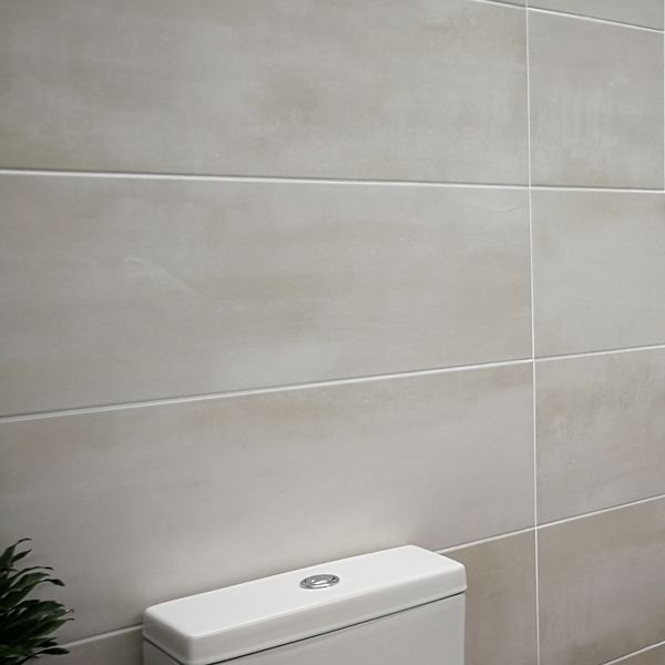 Magnum White Ceramic Wall Tile 265x800mm