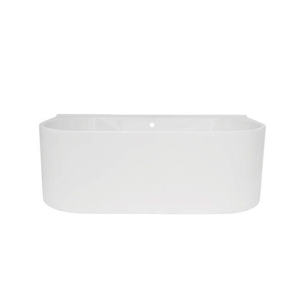 Aquarius Pura White Acrylic Freestanding Bath 1775 x 840 x 611mm