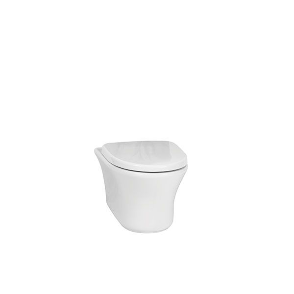 Betta Diplomat White Wall Hung Toilet Including Seat