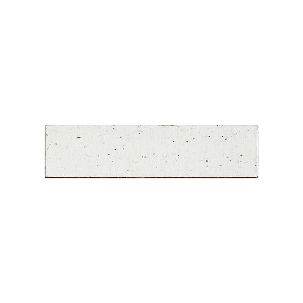 Morrocotto White Ceramic Brick Tile 60x240mm