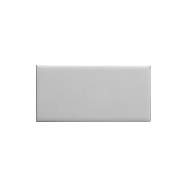 Flat White Matt Subway Wall Tile 75x150mm