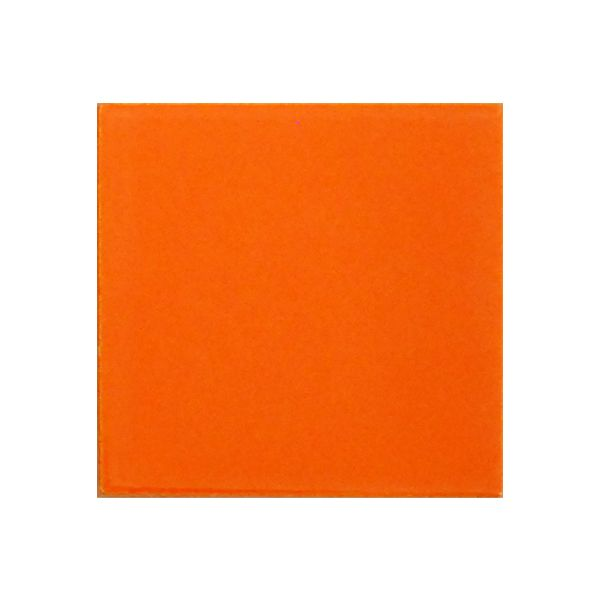 Piccolo Orange Gloss Ceramic Tile 100x100mm