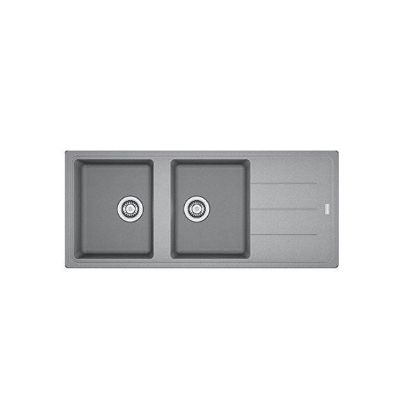 Basis Grey Fragranite Sink 1160x500x200mm