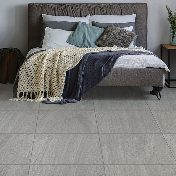 Landstone Nuovo Smoke Matt Glazed Porcelain Tile 595x595mm