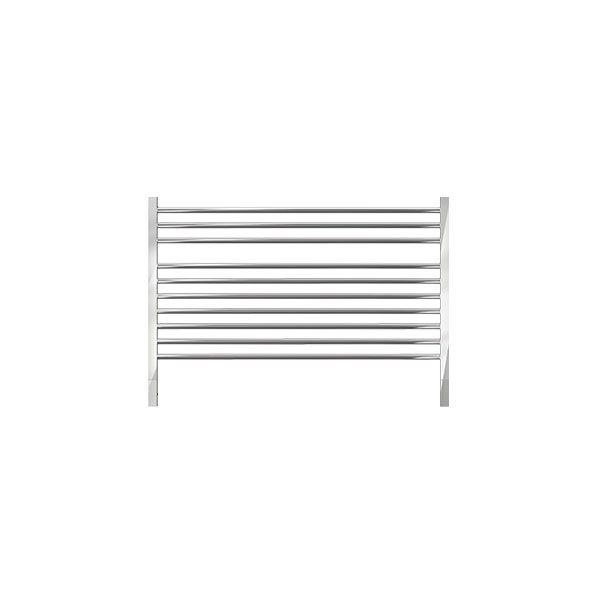Jeeves Quadro Q Polished Stainless Steel Heated Rail 690 x 750mm