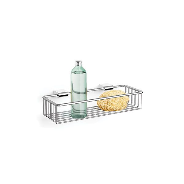 Zack Atore Polished Stainless Steel Shower Basket Large 85 x 175 x 375mm